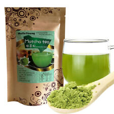 100g Japanese Matcha Green Tea Powder 100% Natural Organic Slimming Tea FOOD