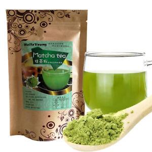 100g Japanese Matcha Green Tea Powder 100% Natural Organic Slimming Tea FOOD