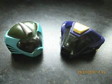 1990s GALOOB BIKER MICE FROM MARS : MODO & VINNIE Helmets in good condition