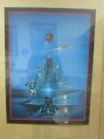 Warrior of Mongo space apocalyptic Vintage Poster 1978 fantasy Inv#G4386