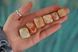 Tumbled Sunstone Polished Stone