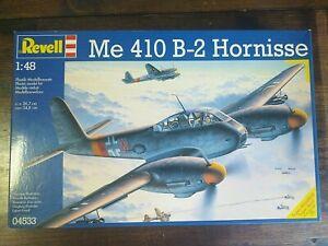 REVELL - 04533 - MESSERSCHMITT ME 410 B-2 HORNISSE - 1:48 - COMPLETO DI DECAL