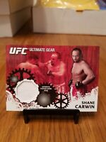 2010 Topps UFC Shane Carwin Ultimate Gear RELIC Card