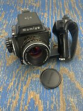 Mamiya M645 6x4.5 Film Camera w/ Sekor C 80mm F2.8 With Grip - Works