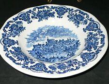 Wedgwood Enoch Tunstall Ltd England Royal homes of Britain Bleu assiettes à soupe 22