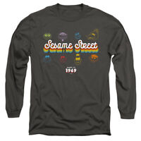 SESAME STREET MADE IN 1969 Licensed Adult Men's Long Sleeve Tee Shirt SM-3XL