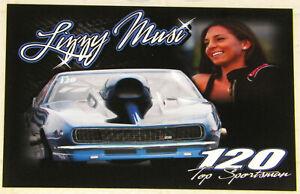 """LIZZY MUSI"" 1968 CAMARO TOP SPORTSMAN ""ADRL DRAG RACING"" HANDOUT!!"