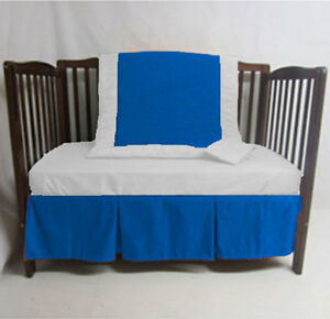 3pc Unisex Cradle Bedding set Fitted Designer Comforter Bumper