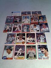 *****Dwight Evans*****  Lot of 125 cards.....79 DIFFERENT