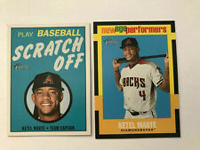 KETEL MARTE 2020 TOPPS HERIAGE SCRATCH OFF plus NEW AGE PERFORMERS