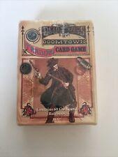 Deadlands Doomtown TCG CCG Trading Card Game Sealed Starter Deck SweetRock