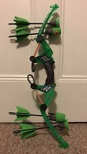 ZING AIR STORM Z TEK BOW GREEN -TOY BOW & 4 (FOUR) ARROWS!