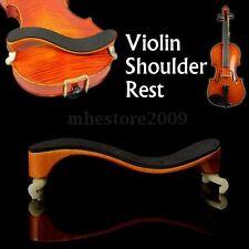 Size 3/4-4/4 Professional Adjustable Deluxe Maple Wood Violin Shoulder Rest