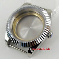 40mm 316L stainless sapphire glass Watch Case fit ETA 2824 2836 8215 MOVEMENT