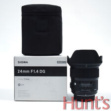 SIGMA ART 24mm f1.4 DG NIKON MOUNT AUTO FOCUS LENS