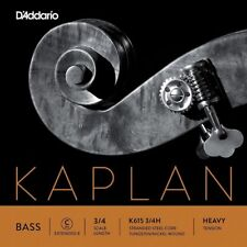 D'Addario Kaplan Series Double Bass C (Extended E) String 3/4 Size Heavy T (W09)