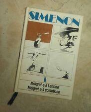 Simenon 1   Maigret e il Lettone   Maigret e il castellano