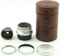 [Mint+3] Voigtlander Snapshot-Skopar 25mm F4 MC Lens Leica L39 Finder from Japan