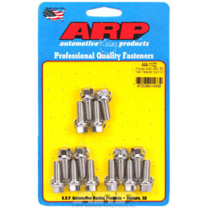 ARP Exhaust Header Bolt Kit 444-1102; Stainless Steel