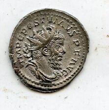 Roman Ancient Billon antoninianus,  Coin Postumus AD 259 - 268