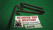 "Jeep Willys MB GPW parking brake ""J"" Bolt  A1016 NOS"