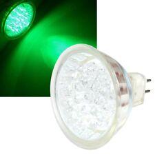 Lámpara LED MR16 - Verde - 12 Voltios 1,3W 15 Leds Focos, Bombilla GU5, 3