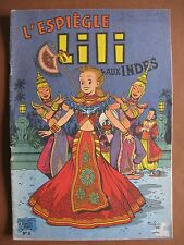 L'ESPIEGLE LILI AUX INDES (1959)