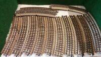 MARKLIN échelle ho lot de 13 rails courbe vintage (2)