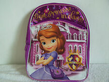 """Disney Sofia The First 10"""" Backpack"""