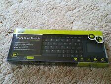 NEW Gear Head KB3800TPW External 2.4GHz Wireless Keyboard w/ Touch Pad
