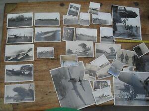 vintage photographs aircraft 1930s crash of harrow markham hawker hart + others