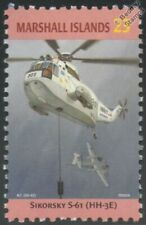 US Navy SIKORSKY S-61/HH-3E/Sea King Helicopter Aircraft Stamp/Marshall Islands