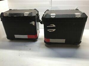 08 BMW R1200GS Adventure Left Right Aluminum Luggage Case Pannier Set Bags