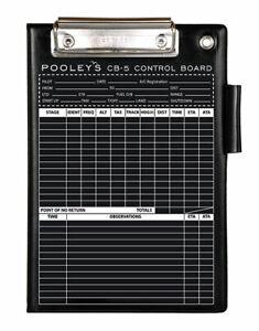 Pooleys CB-5 Folding  Kneeboard *Bestseller*