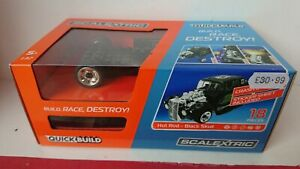 RARE SCALEXTRIC C3708 Quick build Hot Rod Black Skull NEW