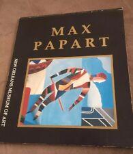 Max Papart: Master Prints, 1985 Exhibit Catalog New Orleans Art  Museum