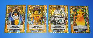 Lego® Nexo Knights 2 Trading Card Game  4 Karten LE8 / LE9 / LE10 LE11