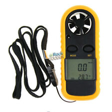 LCD Gauge Meter Sport Anemometer NTC Thermometer Digital Wind Speed Measurement