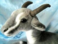 "Toggenburg plush stuffed Goat 16"""
