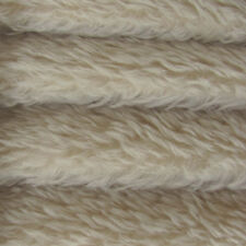 "1/4 yd 380V Oatmeal Intercal 1"" Med-Dense Vintage Finish German Mohair Fabric"