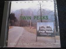 CD  OST  Music from TWIN PEAKS  David Lynch & Angelo Badalamenti  Neuwertig