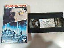 El Cementerio Viviente Stephen King - Pelicula VHS Castellano