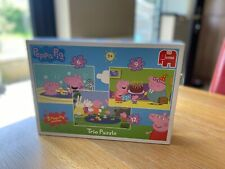 Peppa Pig Jigsaw Trio 3 Puzzles