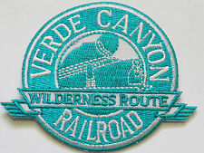 Verde Canyon Railroad Patch,  Wilderness Route Railroad Patch , (#1372)*(**)