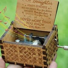 Mum To Daughter-You Are Loved More Than You Know-Engraved Music Box Original v