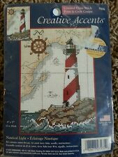 "Creative Accents Nautical Light Counted Cross Stitch 7935 5x7"" Dimensions 2003"