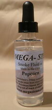 JT's Mega Steam 2 oz. Popcorn Scent Smoke Fluid Made in USA Ships FREE in US