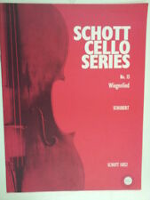 cello SCHUBERT Wiegenlied , Schott 11052
