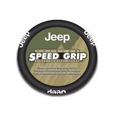 "NEW Jeep Premium Speed Grip Steering Wheel Cover 14.5""-15.5"""
