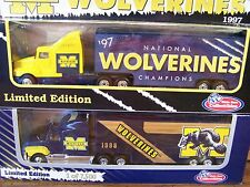 MICHIGAN WOLVERINES, 97 NATIONAL CHAMPIONS, 98 White Rose Collectibles